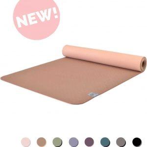 Eco Yogamat | Superior TPE - 5mm | Excellent Earth - Bruin | Veerkrachtig & Gripvast | Love Generation