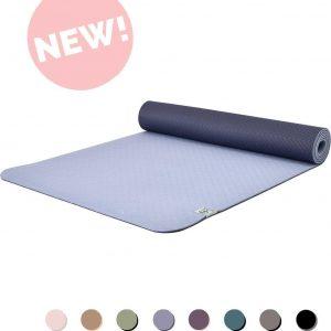 Eco Yogamat | Superior TPE - 5mm | Lovely Lavender - Paars | Veerkrachtig & Gripvast | Love Generation