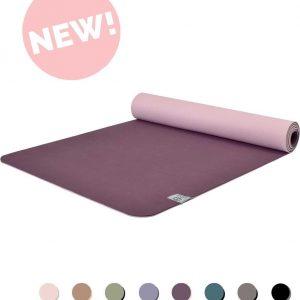 Eco Yogamat | Superior TPE - 5mm | Passionate Purple - Paars | Veerkrachtig & Gripvast | Love Generation