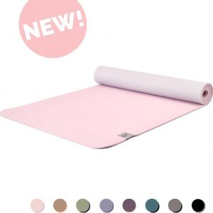 Eco Yogamat | Superior TPE - 5mm | Precious Pink - Roze | Veerkrachtig & Gripvast | Love Generation