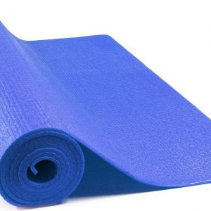 JAP Sports - Yogamat - Anti slip sportmat - Fitness, workout, pilates etc. - Yoga mat ook voor thuis - Zacht en licht - 4mm - Blauw