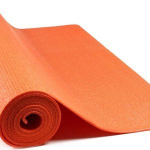 JAP Sports - Yogamat - Anti slip sportmat - Fitness, workout, pilates etc. - Yoga mat ook voor thuis - Zacht en licht - 4mm - Oranje