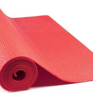 JAP Sports - Yogamat - Anti slip sportmat - Fitness, workout, pilates etc. - Yoga mat ook voor thuis - Zacht en licht - 4mm - Rood