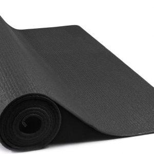 JAP Sports - Yogamat - Anti slip sportmat - Fitness, workout, pilates etc. - Yoga mat ook voor thuis - Zacht en licht - 4mm - Zwart