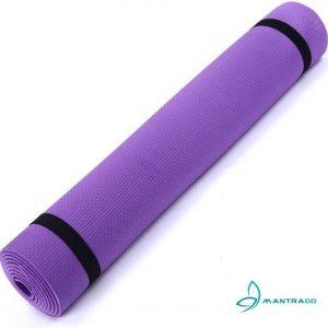 Yoga mat super grip EVA comfort paars