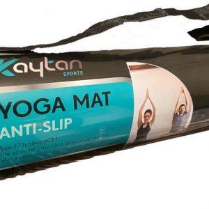 Kaytan Sports - Yoga Mat Anti Slip - Groen Snake Skin