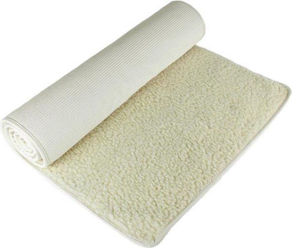 Wollen yogamat (scheerwol, 200cm x 90cm x 1,6cm)